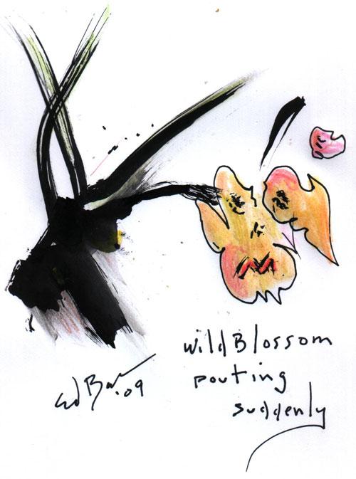 Blossom Pouting
